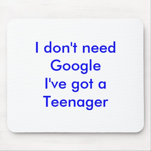 I don't need Google Mousepads