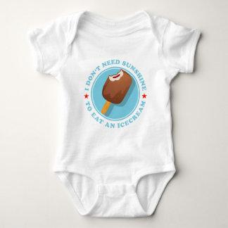 I don't need sunshine tons eat icecream baby bodysuit