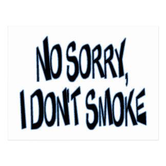 I Don't Smoke Postcard