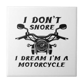 I Don't Snore Tile
