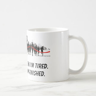 I don't stop when I'm tired runner mug