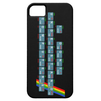 I Don't Understand Computers - iPhone (black) iPhone 5 Cover