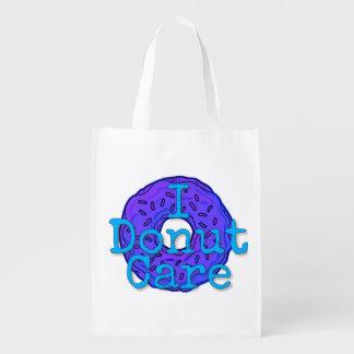 I Donut Care Reusable Bag