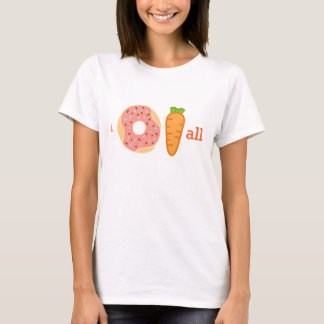 I donut carrot all funny shirt