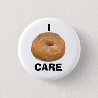 I Donut (Don't) Care Button