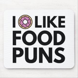 I Donut Like Food Puns Mouse Pad