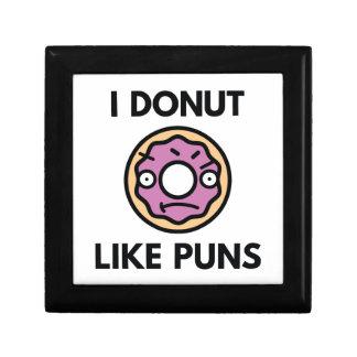 I Donut Like Puns Gift Box