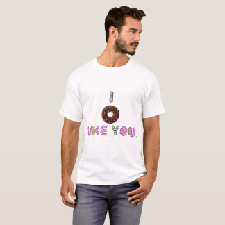 I Donut Like You White Tee
