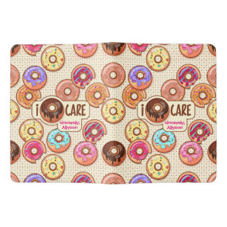 I Doughnut Care Cute Funny Donut Sweet Treats Love Extra Large Moleskine Notebook