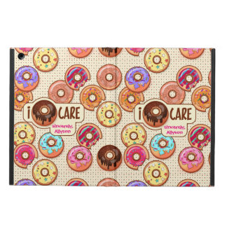 I Doughnut Care Cute Funny Donut Sweet Treats Love iPad Air Cover