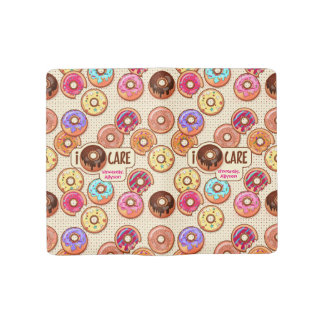 I Doughnut Care Cute Funny Donut Sweet Treats Love Large Moleskine Notebook