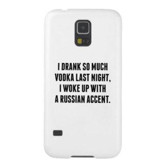 I Drank So Much Vodka Last Night Galaxy S5 Covers