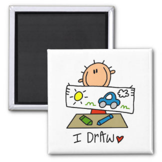 I Draw Tshirts and Gifts Magnet