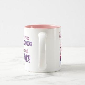 I dream I was awesome coffee mug