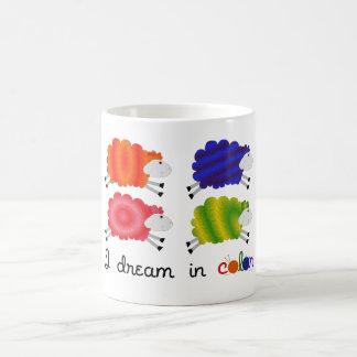 I Dream in Color Classic White Coffee Mug