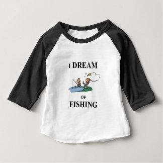 I Dream Of Fishing Baby T-Shirt