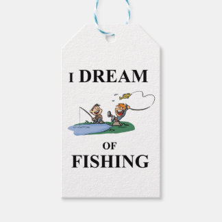 I Dream Of Fishing Gift Tags