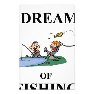 I Dream Of Fishing Stationery