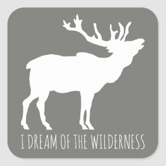 I Dream Of The Wilderness Stickers