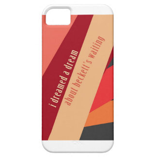 """I Dreamed A Dream About Beckett's Waiting"" iPhone 5 Cases"