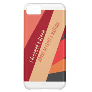 """I Dreamed A Dream About Beckett's Waiting"" iPhone 5C Cover"
