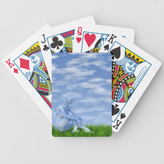 I dreamed I became the sky Bicycle Playing Cards