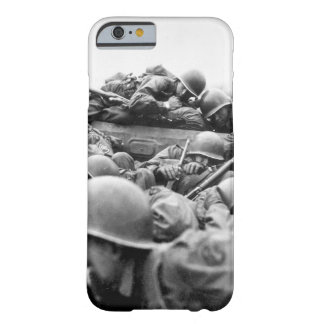 """I drew an assault boat to cross in_War Image Barely There iPhone 6 Case"