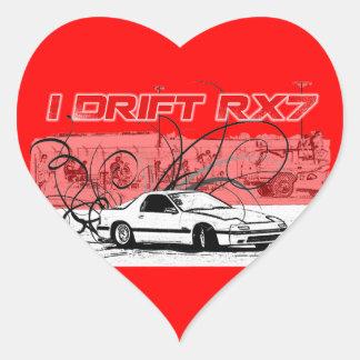 I Drift RX7 Stickers