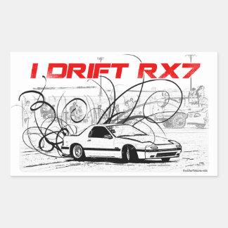 I Drift RX7 Sticker
