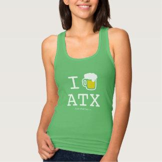 I Drink Austin, TX Razor Back Tank