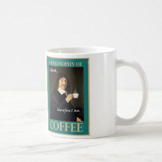 I Drink, Therefore I Am Coffee Mug