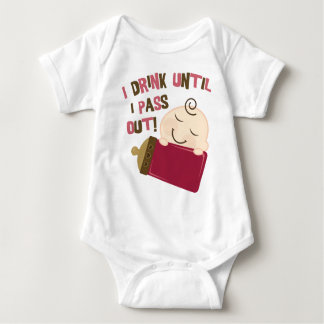 I Drink Until I Pass Out Baby Bodysuit