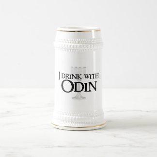 I drink with Odin Beer Mug