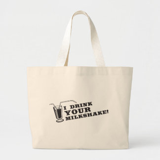 I drink your milkshake there will be blood jumbo tote bag