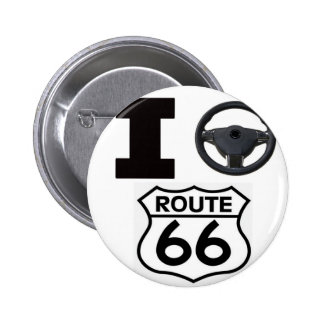 I Drive Route 66 Buttons