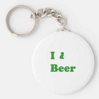 I Dublin Beer Keychain