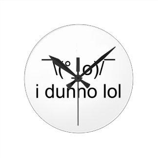 i dunno lol ¯\(°_o)/¯ round clock