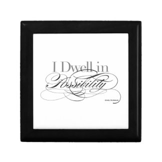 I Dwell in Possibility - Emily Dickinson Quote Gift Box