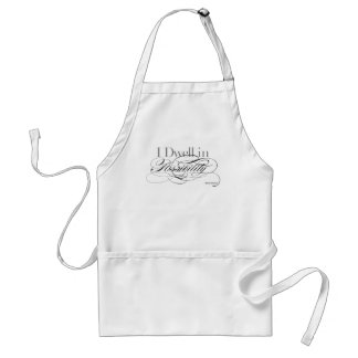 I Dwell in Possibility - Emily Dickinson Quote Standard Apron