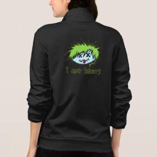"""""""i eat brains"""" Dude Zombie (on dark background) Jackets"""