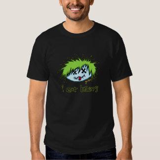 """i eat brains"" Dude Zombie (on dark background) T Shirt"