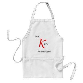 I Eat KPI s for Breakfast Aprons