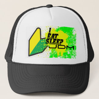 I eat, sleep jdm trucker hat