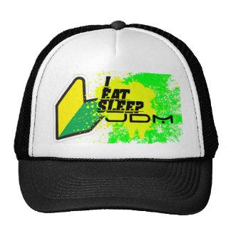 I eat, sleep jdm trucker hat