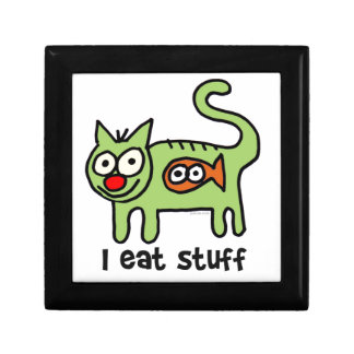 I eat stuff kitty! gift box