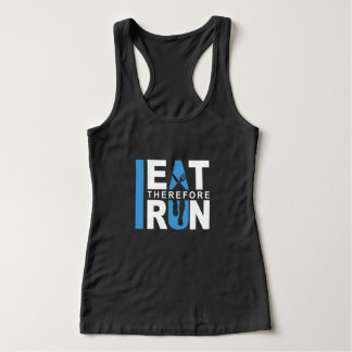 I Eat Therefore I Run T-shirt