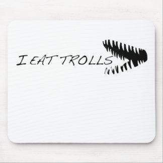 I Eat Trolls (teeth) Mouse Pad