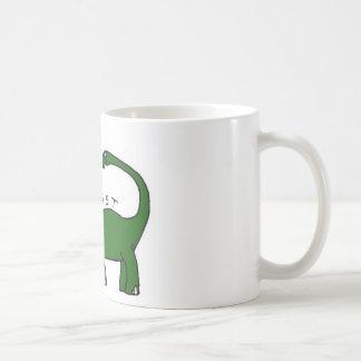 I Exist Brontosaurus Dinosaur Mug