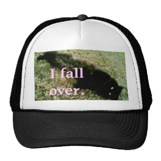 'I fall over' TRUCKER! Trucker Hat