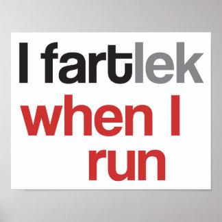 I FARTlek quand je cours le © - FARTlek drôle